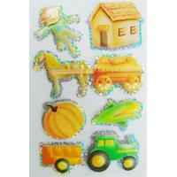 China Shinning Decor Small Hologram StickersSheets , Personalized Hologram Stickers on sale