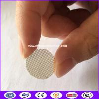 China OD 0.59 Stainless Steel Tobacco Smoking Metal Filters Pipe Screen/Wire Mash  made in China on sale