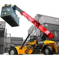 Buy cheap Wharfs / Storage Yards Reach Lift Forklift , Reach Fork Truck Anti Collision from wholesalers