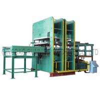 Quality 800T Pressure Rubber Hydraulic Molding Vulcanizing Machine with Automatic Sliding Mold for making Condenser seal for sale