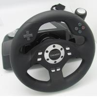 Buy cheap usb 2 axis 12 button v5 pc game racing wheel with 270 degree