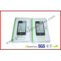 Quality Fashion Clear Fold Plastic Clamshell Packaging Boxes For Iphone 5s Case for sale