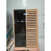 Quality Hemlock Wooden Far Infrared Sauna Room / Cabin For Two Person for sale