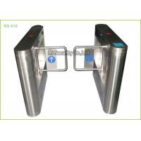 Retractable Supermarket Swing Gate Ce Approved IR Sensor Alarm  Turnstile