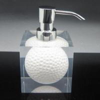 China Acrylic Resin Golf Lotion Dispenser for Bathroom, OEM and ODM Orders are Welcome on sale