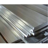 China Cold Rolled Brushed Stainless Steel Flat Bar , High Hardness ss flat bar 300 Series on sale