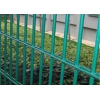 Buy cheap Twin Wire 8 / 6 Double Wire Fence Wrought Iron Style / Green Pvc Coated Wire from wholesalers