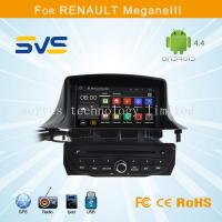 Quality Android car dvd player GPS navigation for Renault Megane 3 III with A9 chipset quad core for sale