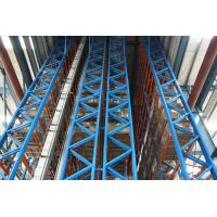 Quality high - rise spray paint finished automated storage retrieval system for Factory for sale