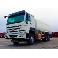Quality Ten Wheels Petrol Tank Truck , 3 Axles 12.00R20 Tire Oil Delivery Truck for sale