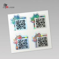 Quality Custom Polyester Holographic sticker labels with serial number printing for sale