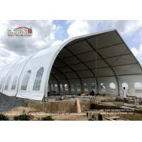 Quality Big Curve Clear Span Tents For Outdoor Wedding Events And Conference for sale