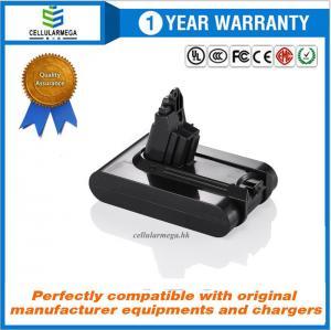Quality Cellularmega 2200mAh 21.6V Replacement Battery for Dyson V6 Dyson DC61 DC62 DC58 DC59 595 650 770 880 Animal DC72 DC74 for sale