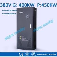 China 400/450kw VFD G/P pump  motor AC drive CNC frequency converter Low Voltage frequency inverter Vector Control Transduce on sale