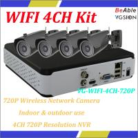 Quality No need wiring, play & plug, widely used in family and shop, Indoor & outdoor use  wireless network camera kits for sale