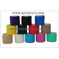 Quality Cohesive Bandage FDA CE  Approved in Solid Color For Hospital And Vet Use for sale