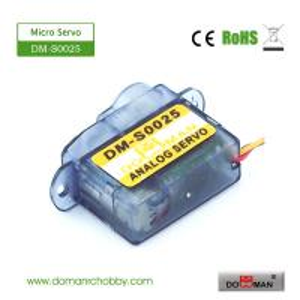Quality DM-S0025 DOMAN RC 2.5g micro rc servo for sale