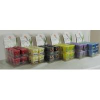Quality Square Jasmine / Lavender Scented Votive Candles for Party for sale
