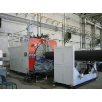 Quality PLC Control Plastic Production Line , HDPE Pipe Extruding Machine for sale