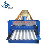 Quality Metal Roofing Sheet Corrugated Roll Forming Machine , Steel Profile Making Machine for sale