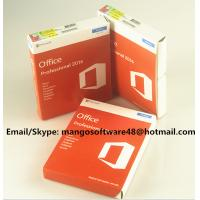 32 / 64 Bit Office 2016 Pro Plus Retail For Global Area Full Functions