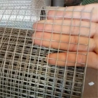 Quality Galvanized Square Welded Wire Mesh Plate / Galvanized Welded Wire Mesh Panel for sale