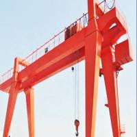 Buy cheap Box Type Girder Gantry Crane , Ship Container Crane To Lift Material / Cargo from wholesalers