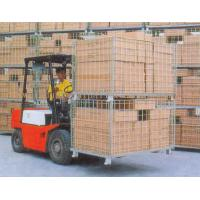 Quality Collapsible Wire Storage Cages 300kg To 1500kg Loading Capacity for sale