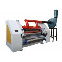 China Vacuum Single Facer Corrugation Machine In Corrugated Paperboard Production Line on sale