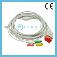 Quality Bionet BM5 One piece 3-lead ECG Cable with leadwires for sale