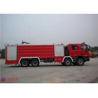 Quality Huge Capacity Fire Fighting Truck Mercedes Chassis With Pressure Combustion Engine for sale