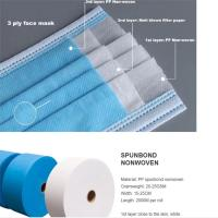 Quality Breathable Polyester Spunbond Fabric Non-Woven Fabric Roll Polypropylene 100% Pp for sale