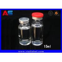 Quality 3ml 15ml Pharmaceutical Tubular Small Glass Containers With Lids for sale