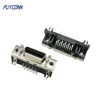 Quality 20pin SCSI R/A Female Servo Connector, Mini D Ribbon MDR Connector for sale