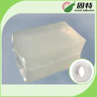 Quality Colorless transparent Block Pressure Sensitive Hot Melt Glue , Colorless Transparent Medical Tape Adhesive Hot Melt for sale
