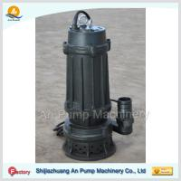 Quality cast iron submersible sewage pump with cutter for sale