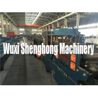 Quality 15KW Steel Purplin Cold Roll Forming Machine PLC Controlling System for sale