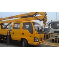 Quality 96kw Platforms Boom Lift Truck Horizontal Reaches Up To 18 Meters for sale