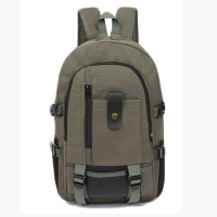 Quality OEM ODM Canvas College Bookbags For Teenagers for sale