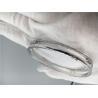 Buy cheap Saddle Shape Moving Diamond Bracelet , Ladies 18k White Gold Bangle Bracelets from wholesalers