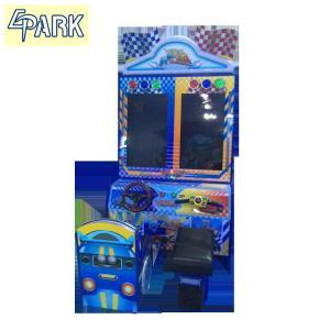 Quality Kids Happy car simulator arcade racing car game machine coin amusement game machine for sale