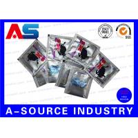 Quality Customized Heat Sealed Aluminum Foil Pouch Oral Jelly Foil Bag Standing Up for sale