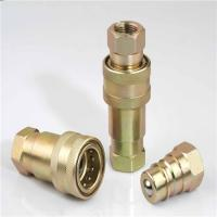 Quality China supplier ISO carbon steel pipe fitting, hydraulic quick release coupling for sale