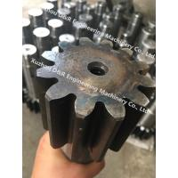 Quality Tadano/Unic 300 gear shaft used with slewing bearing, 40Cr gear shaft for crane for sale