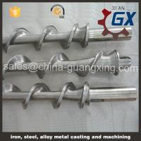 China Bimetallic single screw barrel for PVC cable extruder on sale