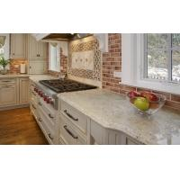 China Bianco Romano Stone Slab Granite Countertops Pricing Polished Flamed Finished in Cut to Size Tiles on sale