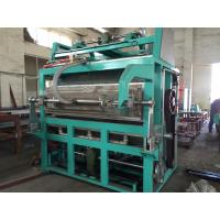 Quality Easy Operation Automatic Egg Tray Machine , Egg Carton Making Machine  for sale