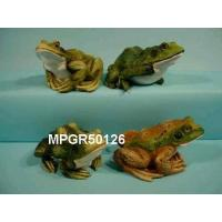 Quality Poly Resin Frog Garden Decor for sale