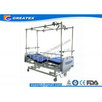 Quality Easy Cleaning Four Crank Manual Hospital Bed / Manual Orthopedics Bed For Clinic , Family for sale