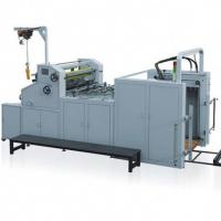 Quality Automatic Water - Soluble Roll Laminator Machine With Collecting Rewinder for sale